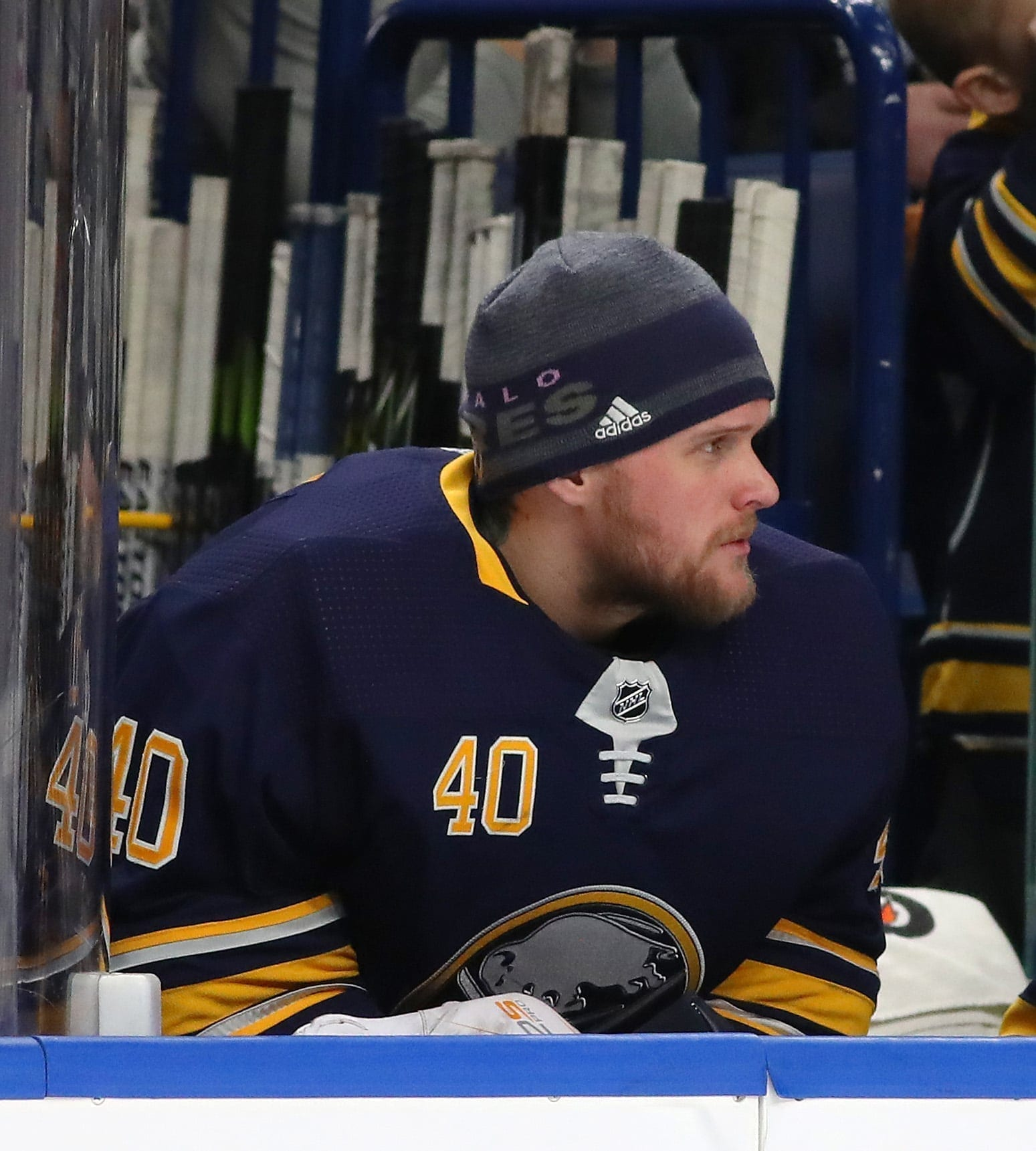 New Isles goalie Robin Lehner gets help after panic attack